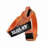 arnés julius-K9 IDC Bel Harness Orange & Gray