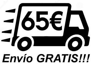 Envio gratuito en pedidos de importe igual o superior a 65€