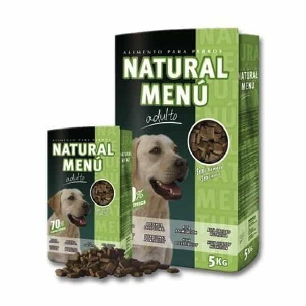 pienso para perros natural menu