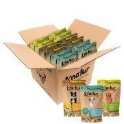 Caja de Knatur mixta con bolsas de carne y bolsas de pescado