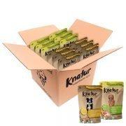 Caja mixta con 6 bolsas de pollo y otras 6 bolsas de cordero