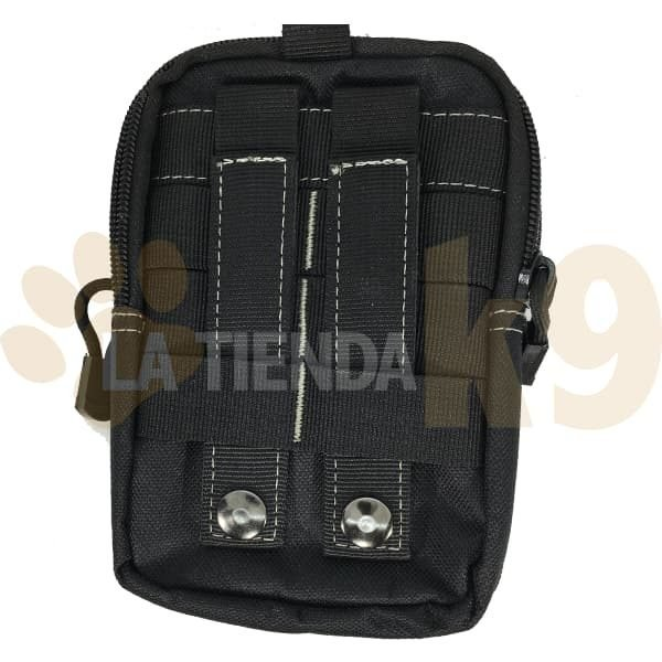 Bolso con sistema molle para llevar la cartera y el mobil