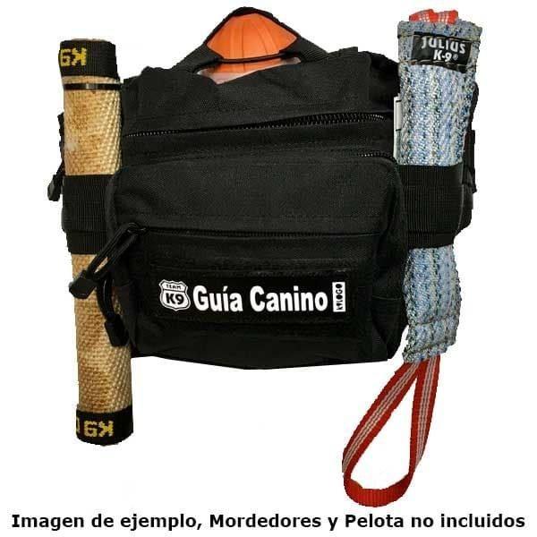 bolso para llevar mordedores y pelotas