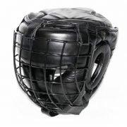 mascara de protección contra impacto de perros con bozal metálico