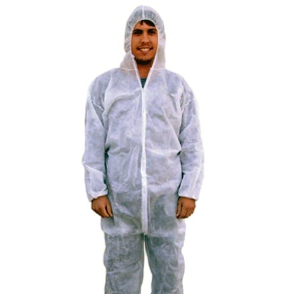 ropa de protección desechable