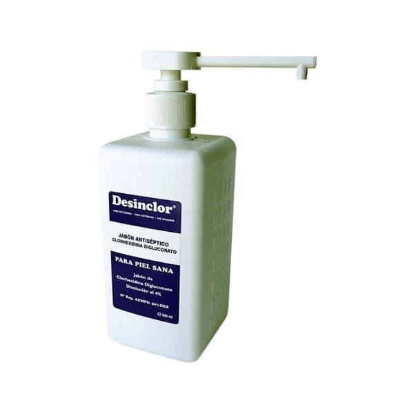 jabón desinfectante de manos