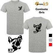 camiseta equipos k9