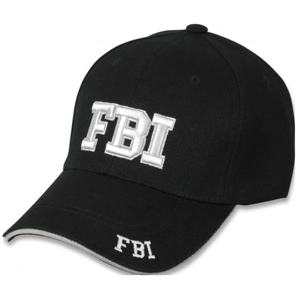 gorra fbi