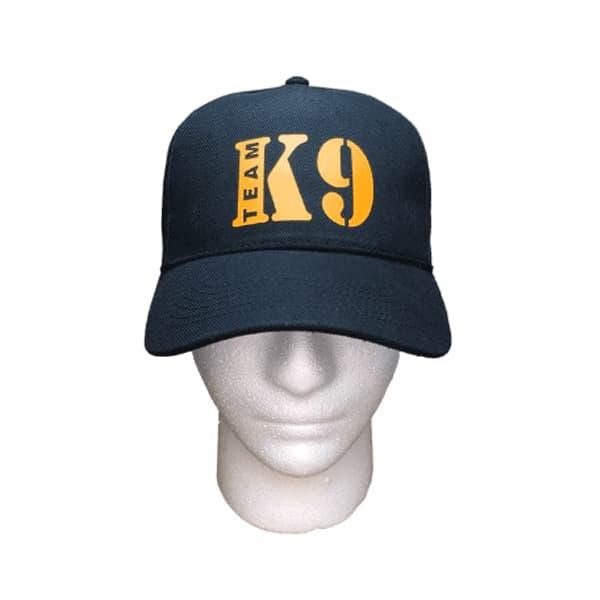 gorra de beisbol k9