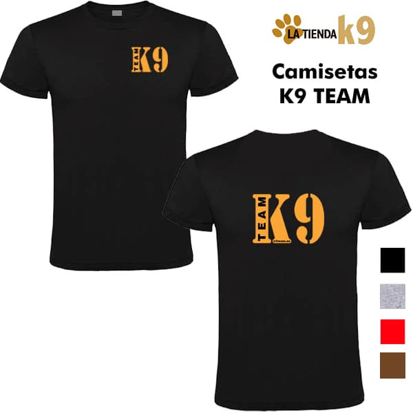 Camiseta K9 Team
